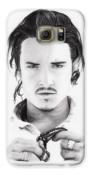 Orlando Bloom Galaxy S6 Case by Rosalinda Markle