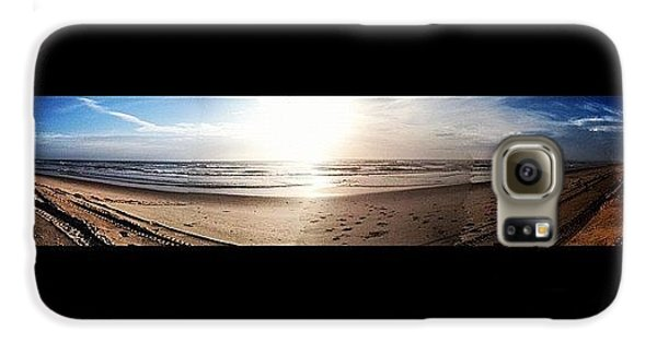 Bright Galaxy S6 Case - Panoramic Picture Of The Sunrise by Lea Ward