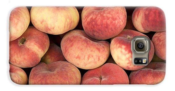 Peaches Galaxy S6 Case by Jane Rix