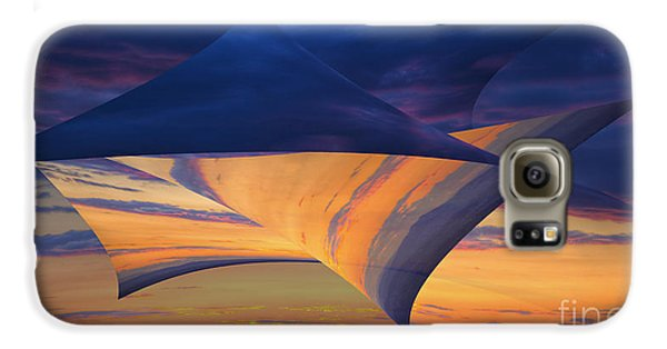 Galaxy S6 Case featuring the photograph Peeling Back The Layers by Clare Bambers