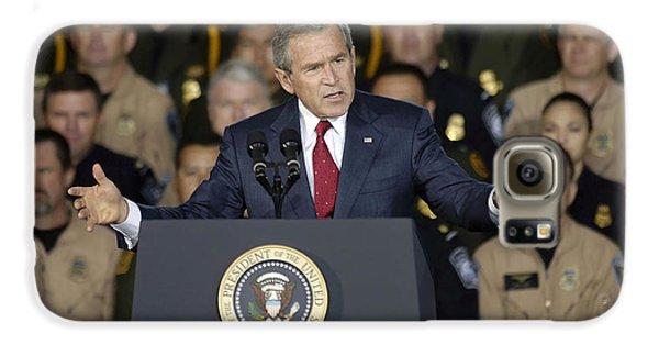 President George W. Bush Speaks Galaxy S6 Case