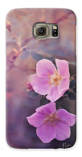 Prickly Rose Galaxy S6 Case by Priska Wettstein