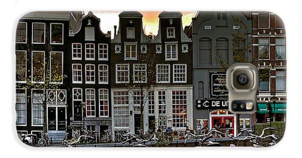 Prinsengracht 458. Amsterdam Galaxy S6 Case by Juan Carlos Ferro Duque