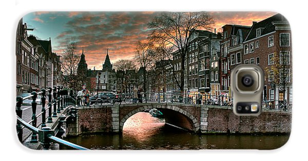 Prinsengracht And Reguliersgracht. Amsterdam Galaxy S6 Case