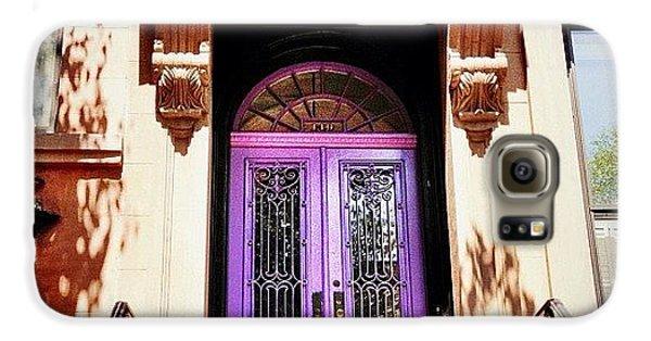 Purple Door - Brooklyn - New York City Galaxy S6 Case