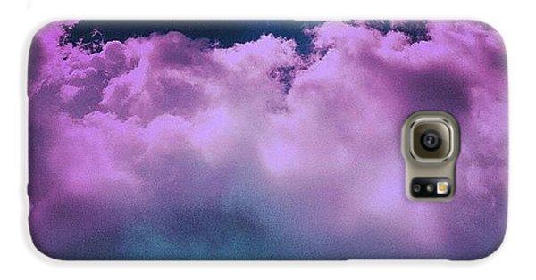 Purple Haze Galaxy S6 Case