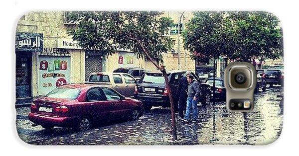 Classic Galaxy S6 Case - Rainbow Street #amman #jo #jordan by Abdelrahman Alawwad