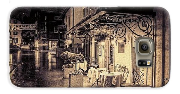 #rainy #cafe #classic #old #classy #ig Galaxy S6 Case