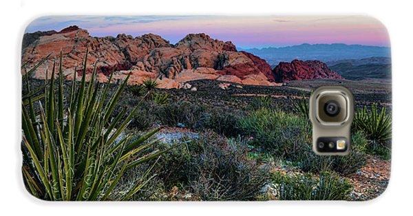 Red Rock Sunset II Galaxy S6 Case