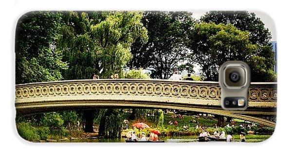 Romance - Central Park - New York City Galaxy S6 Case