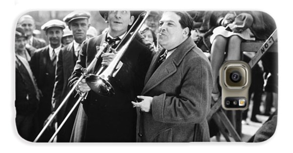Trombone Galaxy S6 Case - Silent Still: Musicians by Granger