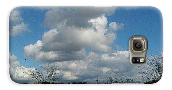 Sky Galaxy S6 Case - Soft And Fluffy by Abbie Shores