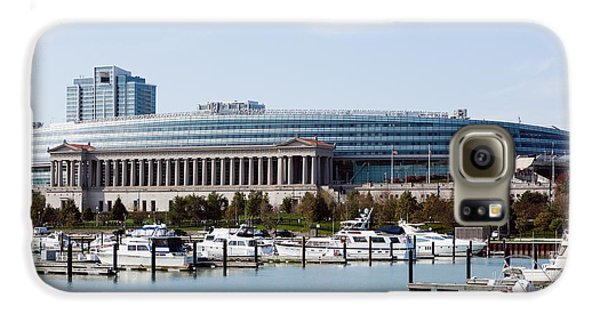 Soldier Field Chicago Galaxy S6 Case by Paul Velgos
