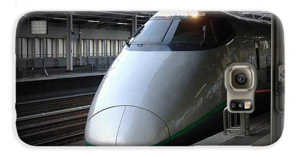 Train Galaxy S6 Case - Speed Train by Naxart Studio