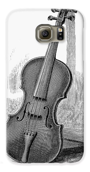 Violin Galaxy S6 Case - Stainer Violin by Granger