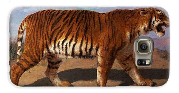 Stalking Tiger Galaxy S6 Case by Rosa Bonheur