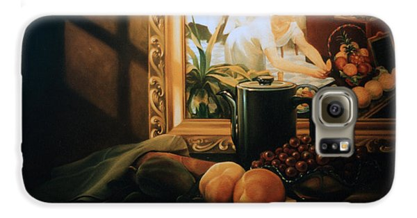 Still Life With Hopper Galaxy S6 Case by Patrick Anthony Pierson