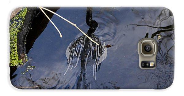Swimming Bird Galaxy S6 Case by David Lee Thompson