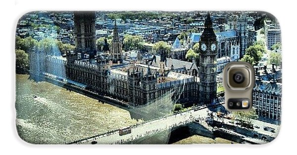 London Galaxy S6 Case - Thames River, View From London Eye | by Abdelrahman Alawwad