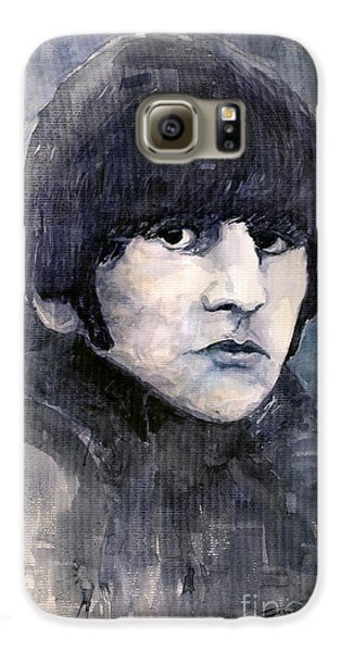 Musician Galaxy S6 Case - The Beatles Ringo Starr by Yuriy Shevchuk