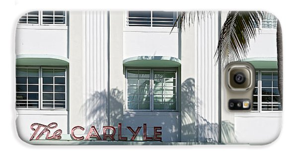 The Carlyle Hotel 2. Miami. Fl. Usa Galaxy S6 Case by Juan Carlos Ferro Duque