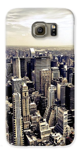 The Chrysler Building And Skyscrapers Of New York City Galaxy S6 Case