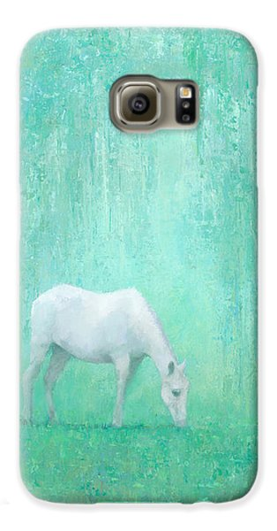 Horse Galaxy S6 Case - The Green Glade by Steve Mitchell