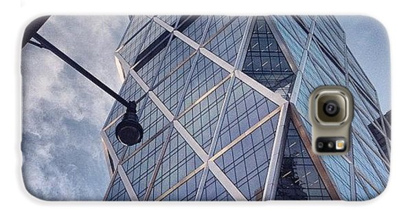 Blue Galaxy S6 Case - The Hearst Building by Randy Lemoine