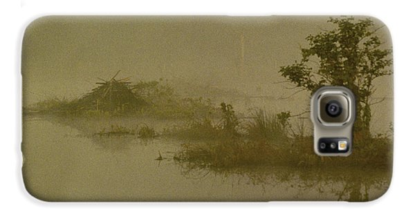 The Lodge In The Mist Galaxy S6 Case by Skip Willits