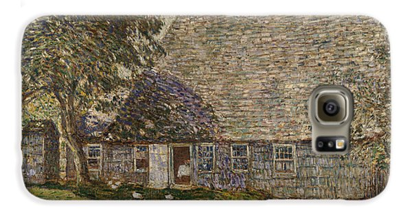 The Old Mulford House Galaxy S6 Case by Childe Hassam