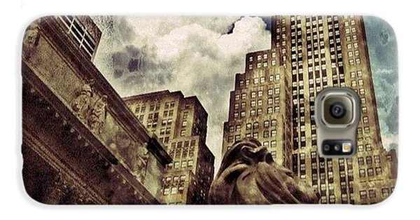 Architecture Galaxy S6 Case - The Resting Lion - Nyc by Joel Lopez