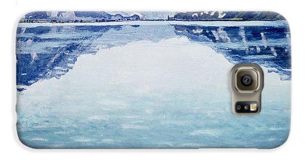 Mountain Galaxy S6 Case - Thunersee Von Leissigen by Ferdinand Hodler