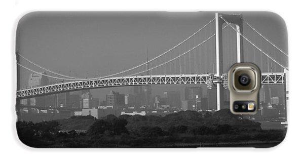 Tokyo Rainbow Bridge Galaxy S6 Case by Naxart Studio