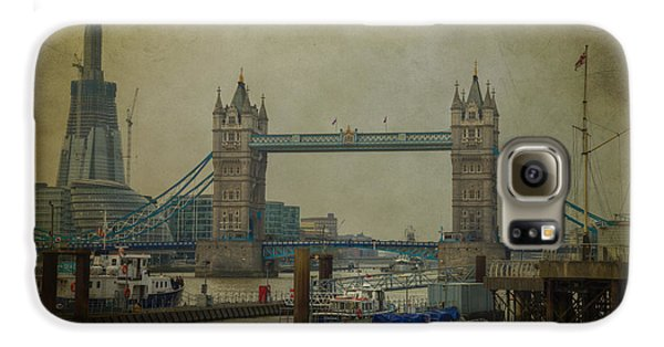 Galaxy S6 Case featuring the photograph Tower Bridge. by Clare Bambers
