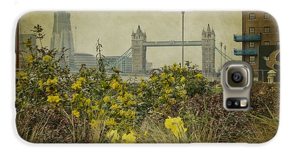Galaxy S6 Case featuring the photograph Tower Bridge In Springtime. by Clare Bambers