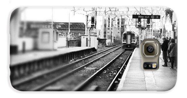 Classic Galaxy S6 Case - #train #trainstation #station by Abdelrahman Alawwad