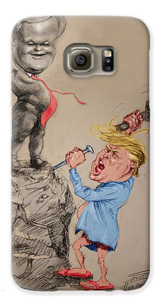 Trump Shaping Up The Future Galaxy S6 Case by Ylli Haruni