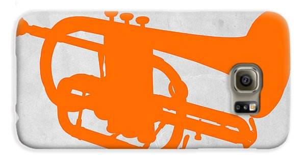 Trombone Galaxy S6 Case - Tuba  by Naxart Studio