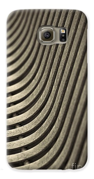 Galaxy S6 Case featuring the photograph Upward Curve. by Clare Bambers