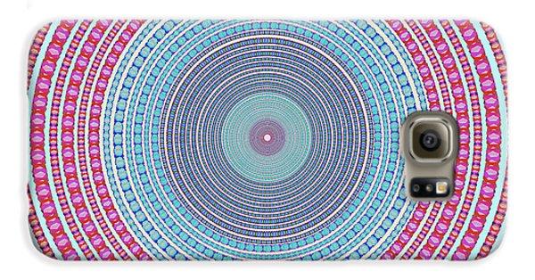 Abstract Galaxy S6 Case - Vintage Color Circle by Atiketta Sangasaeng