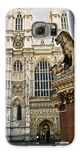 Westminster Abbey Galaxy S6 Case by Elena Elisseeva