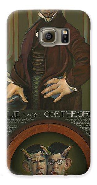 Willie Von Goethegrupf Galaxy S6 Case by Patrick Anthony Pierson