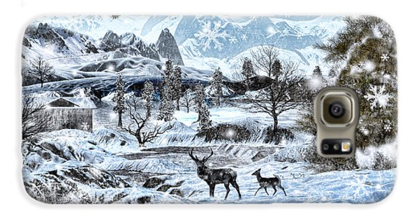 Winter Wonderland Galaxy S6 Case by Lourry Legarde