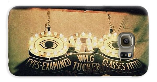 Light Galaxy S6 Case - Wm.g Tucker Glasses by Natasha Marco
