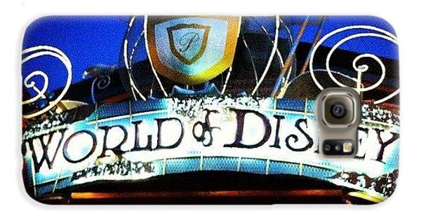 Bright Galaxy S6 Case - World Of Disney by Lea Ward