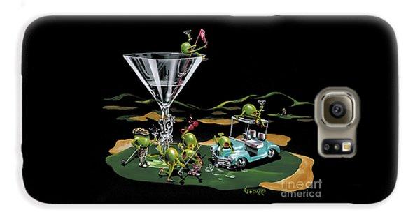 Martini Galaxy S6 Case - 19th Hole by Michael Godard
