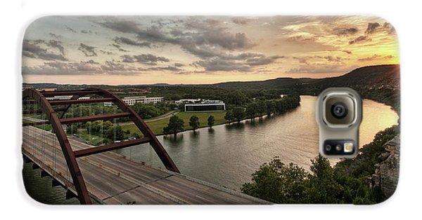 360 Bridge Sunset Galaxy S6 Case