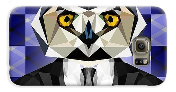 Abstract Owl Galaxy S6 Case