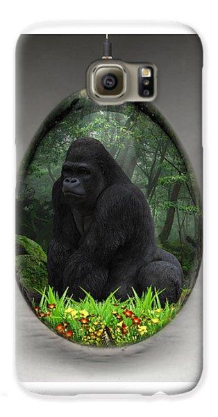 Ape Gorilla Art Galaxy S6 Case