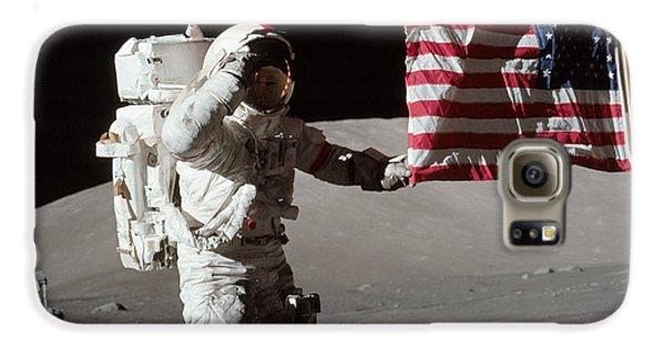 Apollo 17 Astronaut Salutes The United Galaxy S6 Case